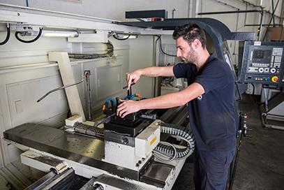 Reparación de moldes industriales - Cortec