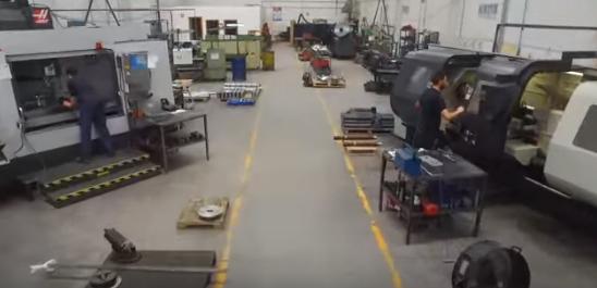 Taller de mecanizado de piezas industriales - Cortec